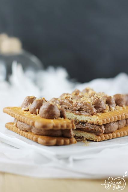 Petit beurre millefeuille caramel Reflets de France Concours