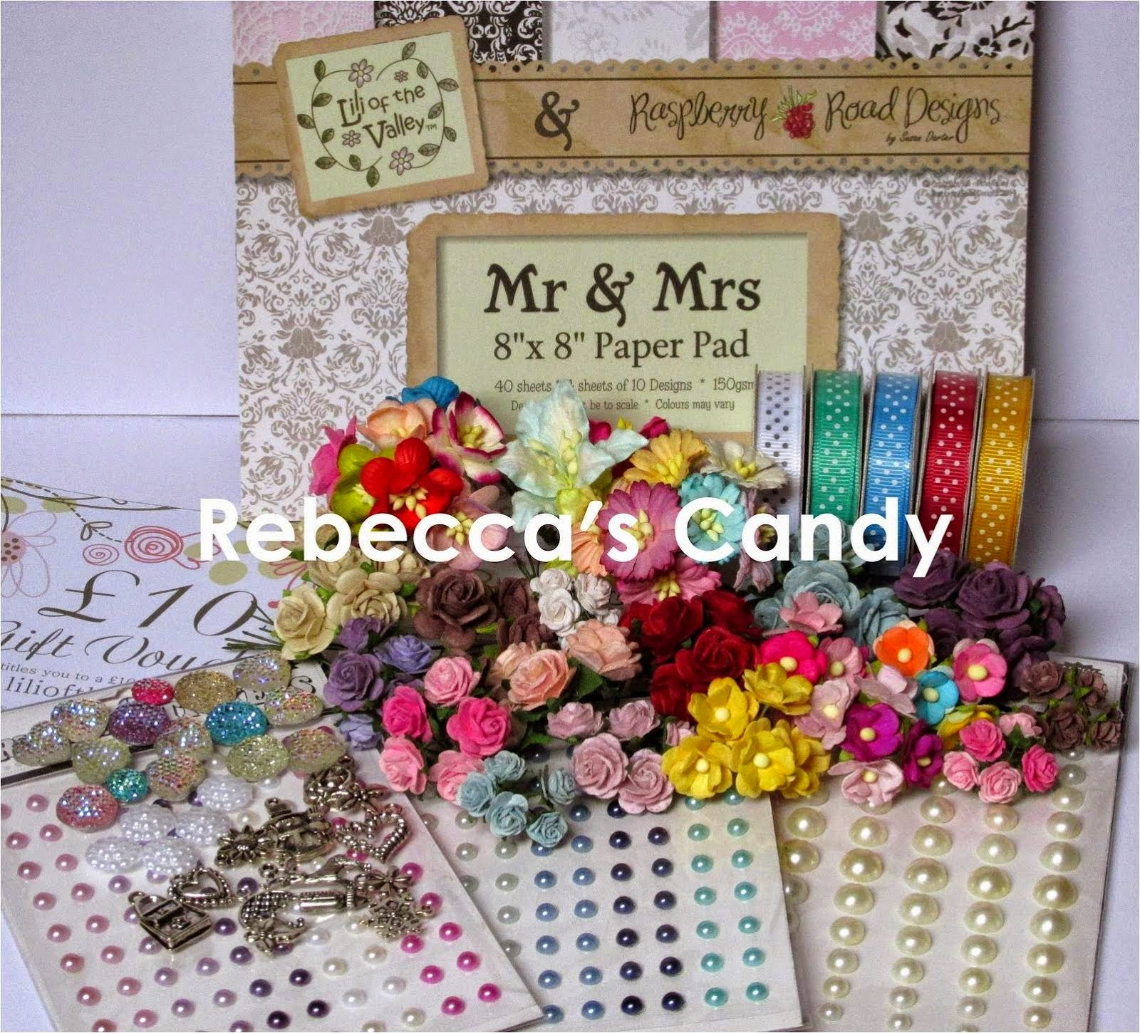 Rebecca's Blog Candy