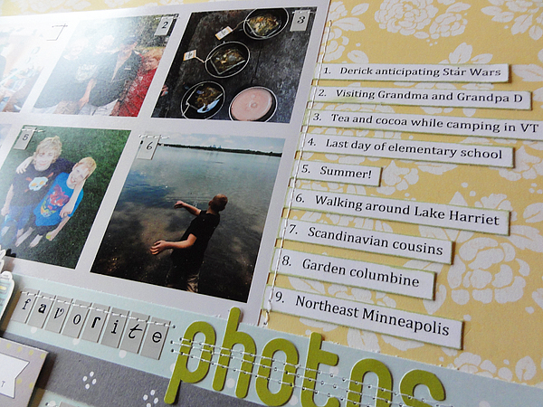 Midwest Scrapgarden What Are Your Favorites Scrapbooking The End
