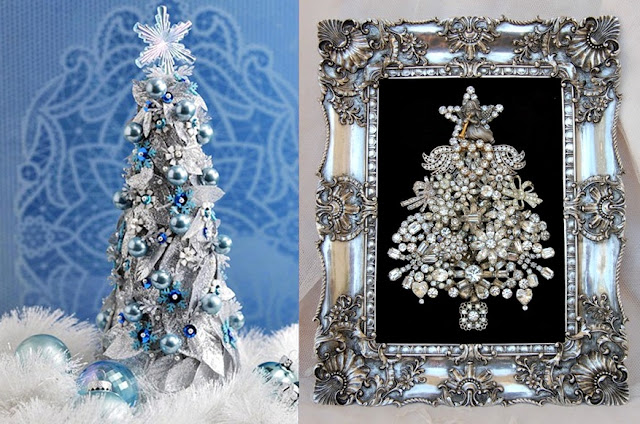 Christmas Table Decoration Ideas Beads : Pop culture and fashion magic original christmas trees ideas