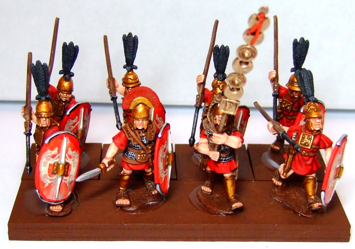 MacPhees Miniature Men Roman Hastati