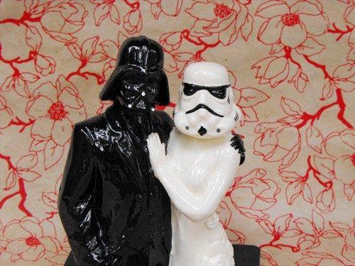 mis vestidos de novia: novias de cine: topes de tartas de star wars