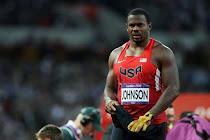 Kibwe Johnson - London Olympics