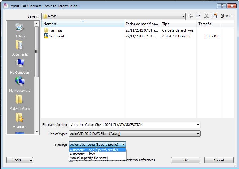 Lucrecia real revit 2012 exportar a formato cad parte ii for Archivos de cad