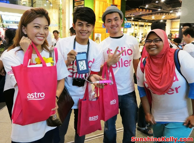 merdeka 2013, Astro, Your Malaysian is Showing, Go Beyond, Positive Engine, Event, Mid Valley megamall, sunshine kelly, kifli dolcem wai how, liza surihani