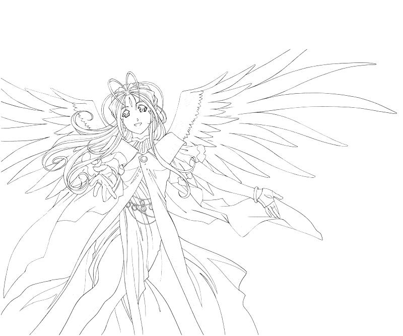 printable-belldandy-character-coloring-pages