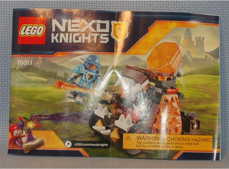 The Mobile Frame Garage: Review: 70311 Nexo Knights Chaos Catapult