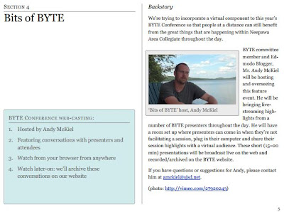BYTE E-program