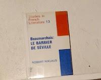 """""""El barbero de Sevilla"""" - P.A.Caron de Beaumarchais"""