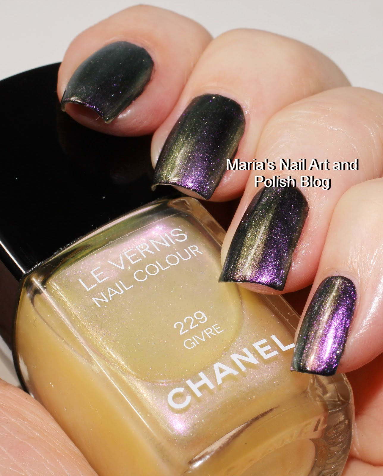 Marias Nail Art And Polish Blog Chanel Givre 229 Swatches