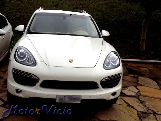 Porsche Cayenne S Branca