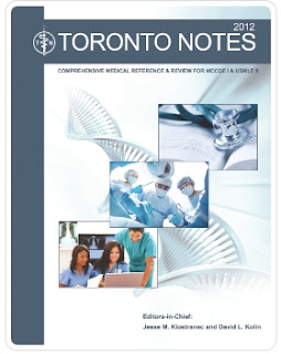 Toronto Notes 2012 PDF (all 30 chapters) for MCCEE and MCCQE