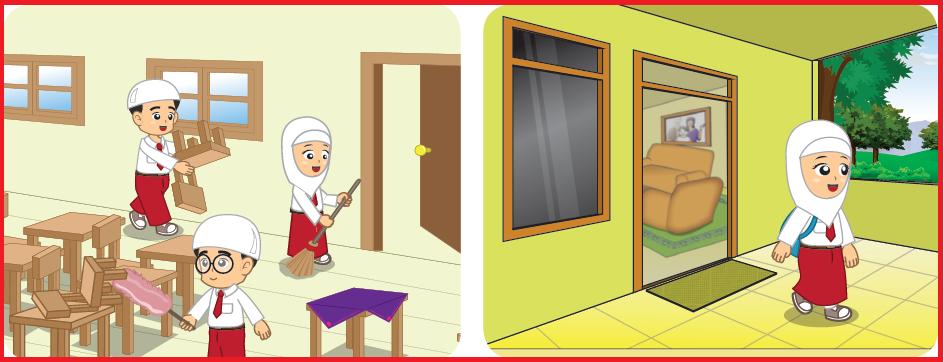 Soal Pai Kelas 4 Sd Kurikulum 2013 Bab Bersih Itu Sehat Semester 1 Warung Education