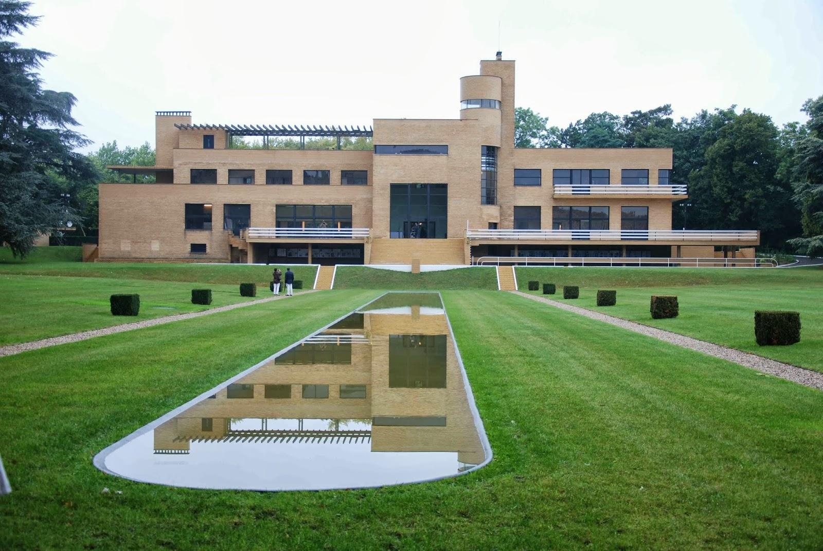 Le parc barbieux dit le beau jardin la villa cavrois de for Villa du jardin singapore