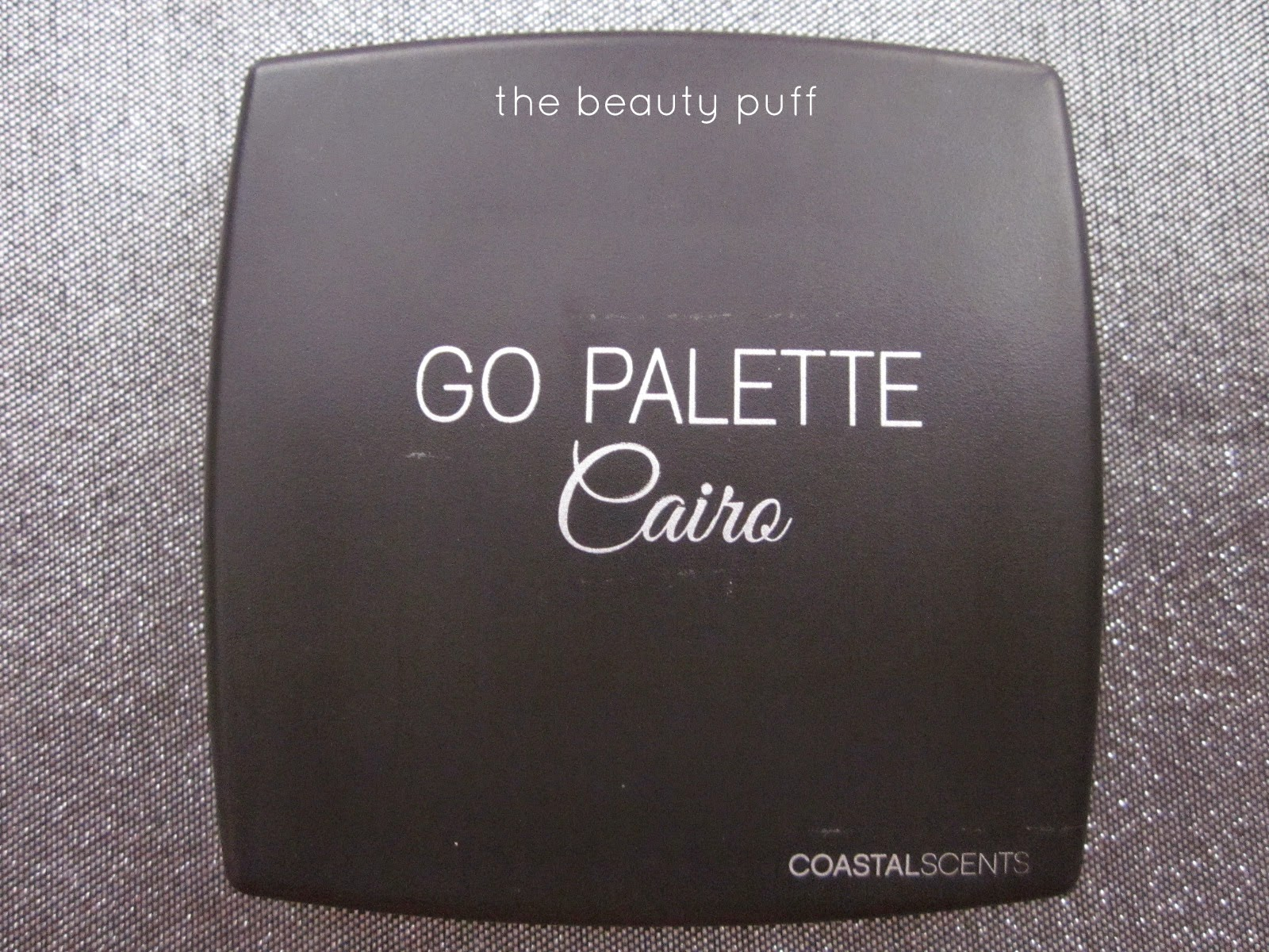 coastal scents cairo palette- the beauty puff