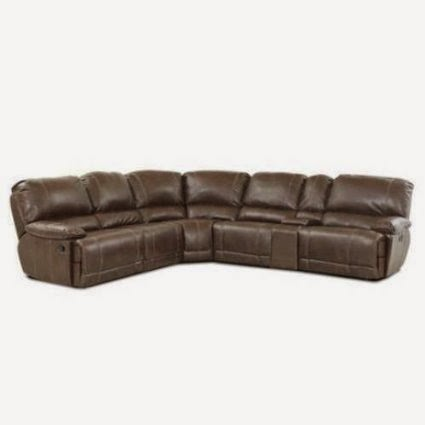 Klaussner Bonded Leather Reclining Sofa