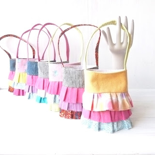 Little Girl Ruffle Purses