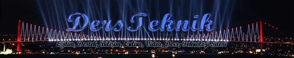 Ödev,Online,Test,Ders Notlari,Video,Sınıf,Konu Anlatımı,Teknoloji,KPSS,YGS,LYS,TEOG,2013,2014