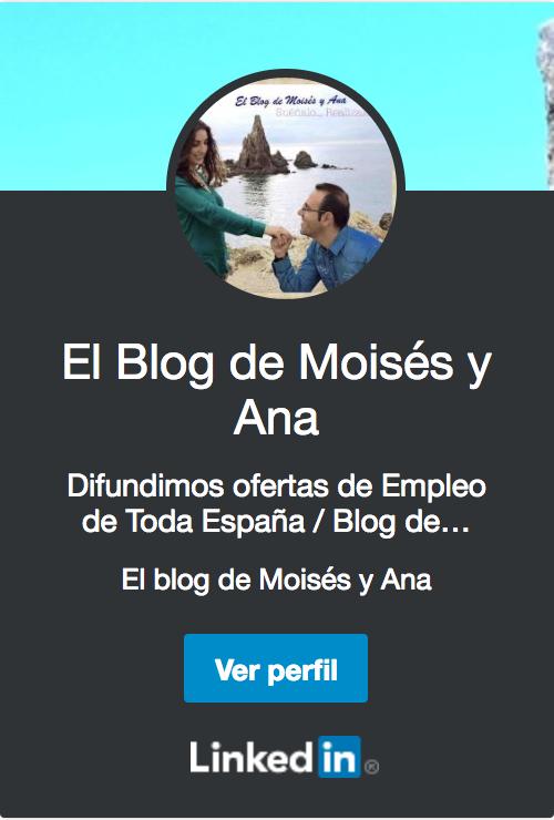 Únete a nuestra Red de Trabajo - El Blog de Moisés y Ana
