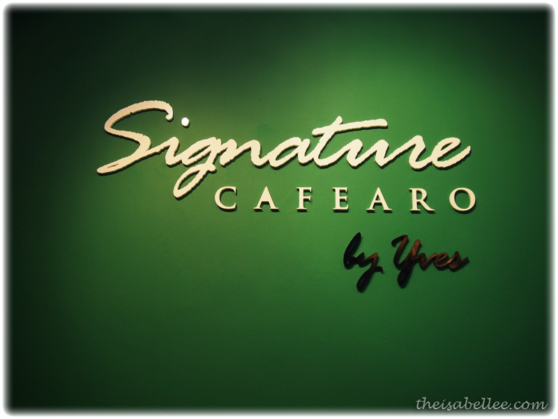 Signature Cafearo by Yves