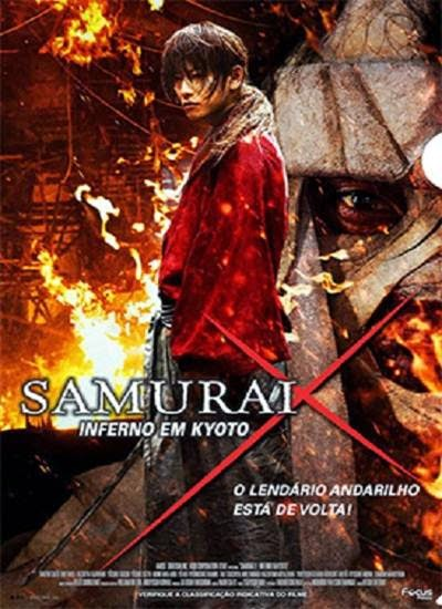 Download Samurai X O Inferno de Kyoto AVI BDRip Dual Áudio + RMVB Dublado Torrent