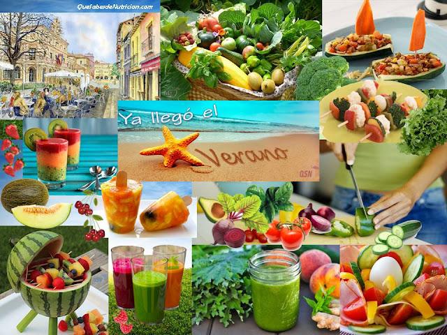 QSN: Alimentos para el verano
