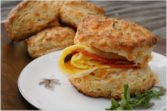 buttermilk cheddar biscuits - 50 women game-changers (in food