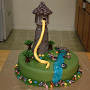 Tangled Cake