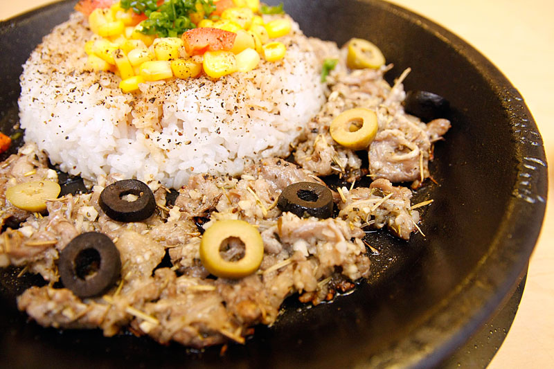 Pepper Lunch's Taste the World Dishes Bistecca Pepper Rice
