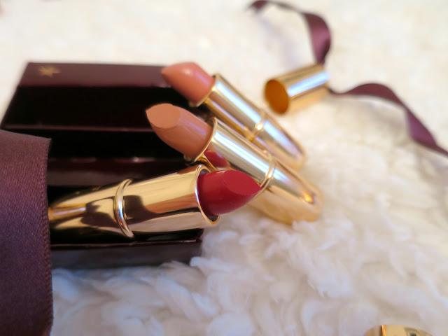 What I Got For Christmas Presents 2015 Charlotte Tilbury make up lipstick charms