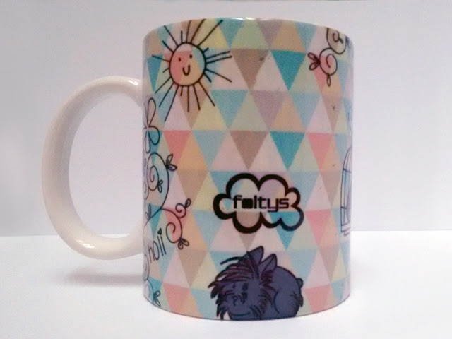 foltys vs estrella & flequi: taza ilustrada personalizada | custom illustrated mug