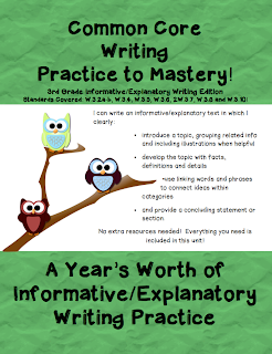 teaching essay writing to 3rd graders