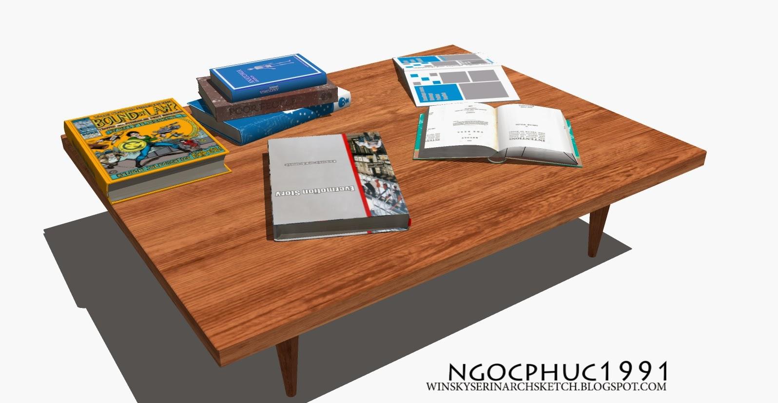 WinskyserinArchSketch Free Coffee Table Model