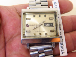 RADO MANHATTAN WHITE DIAL - AUTOMATIC