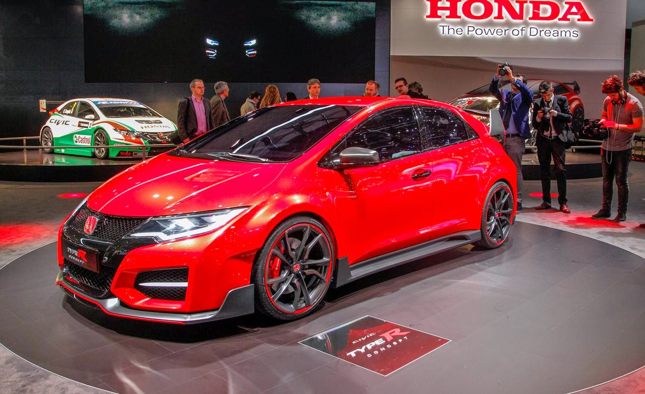 Honda civic type r 2015 Release date