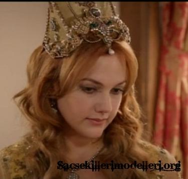Hürrem sultan meryem uzerli saç modeli saç şekilleri 2012