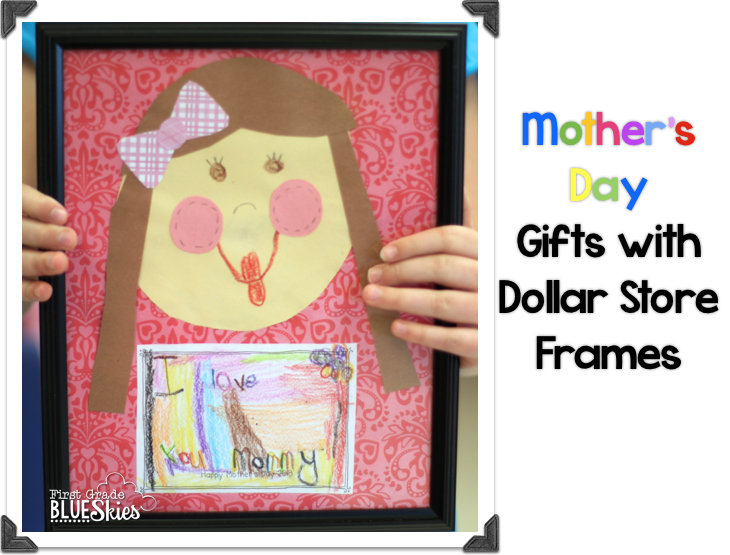 First Grade Blue Skies Mother 39 S Day Glyph And Craft Ideas