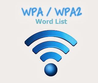 Wordlist file for wpa cracking on windows