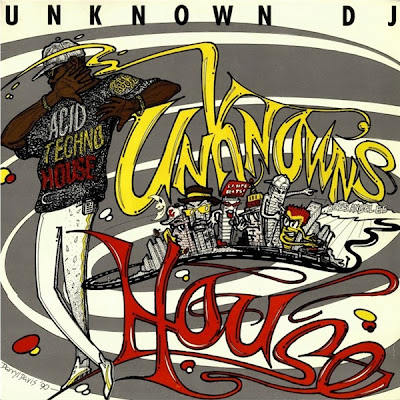Unknown DJ ‎– Unknown's House (Vinyl) (1990) (320 kpbs)