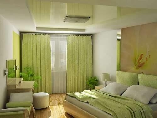 Dormitorios en verde lim n dormitorios colores y estilos - Dormitorio verde ...