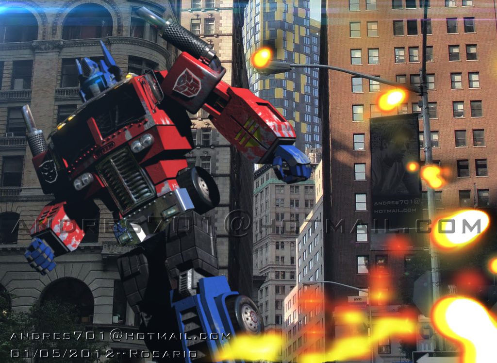 Desafío Modelado & Render 3D Optimus Prime G1