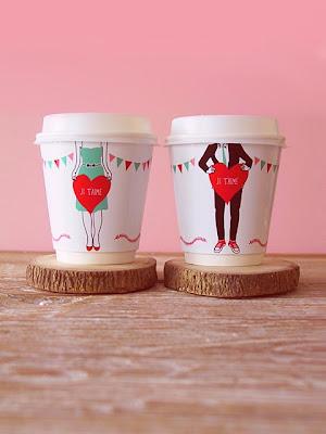 DIY decoracion vasos San Valentin