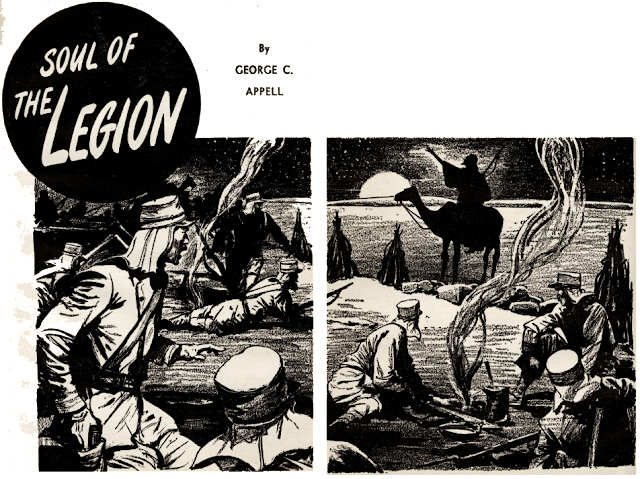 Illustration for Soul of the Legion by George C. Appell