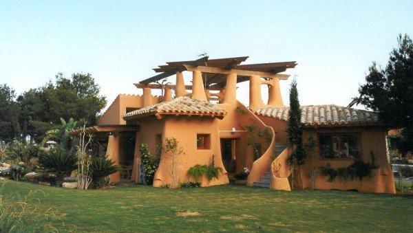 Planeta verde alcorc n super adobe la casa ecologica y resistente - Construccion de casas ecologicas ...