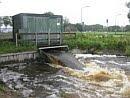 Foto Extreme regenval en overstromingen in het stroomgebied van de Hupselse Beek