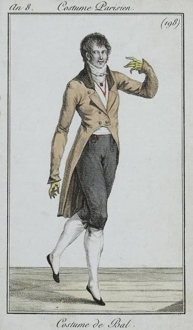 Costume Parisien 1800