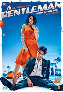 A Gentleman 2017 Hindi Movie 480p Bluray [400MB]