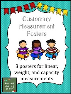 Customary Measurement Posters