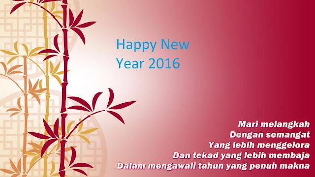 ucapan selamat tahun baru 2016 bergambar