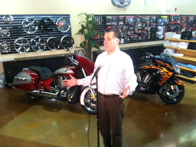 Mitt Romney-Motorcycles-cars